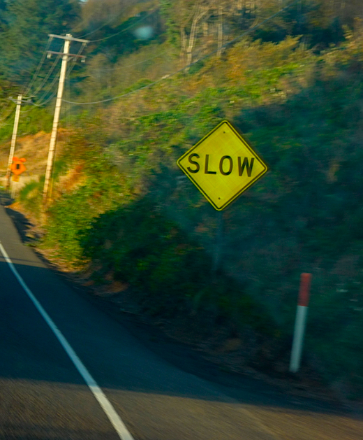 slow-sign
