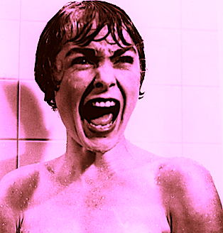 Janet Leigh shower