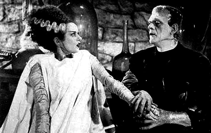 bride meets frankenstein