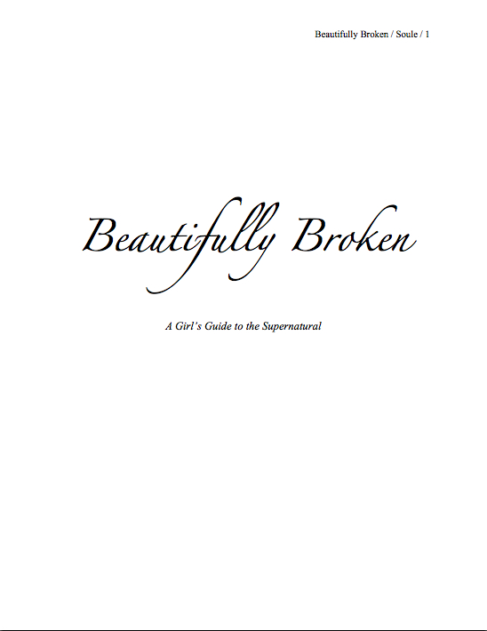 Beautifully Broken title