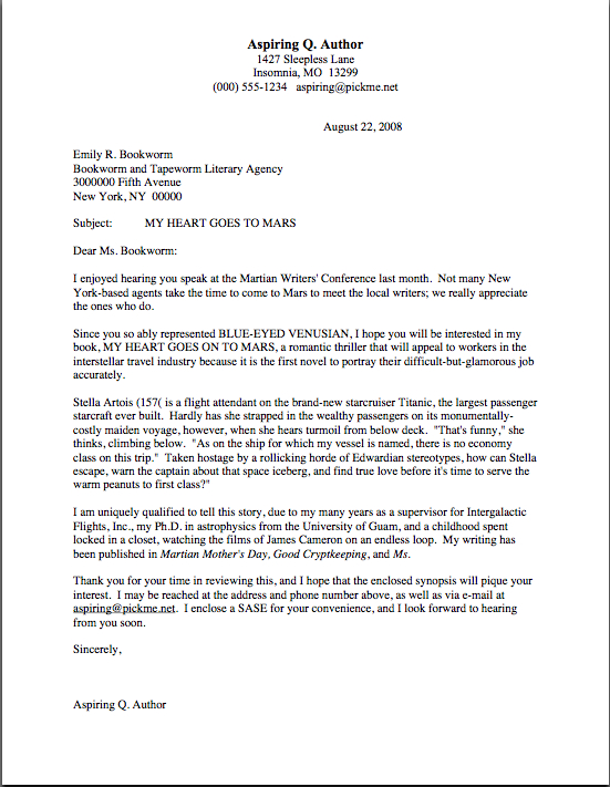 Query Letter Template 65 Love Letter Templates Free Sample